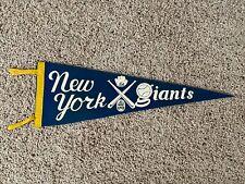 "VERY RARE Vintage 1930's New York Giants Baseball Pennant 25"""