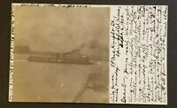1906 Springfield Massachusetts to Westbrook Maine Grand Trunk Railway RPPC Cover