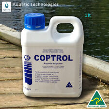 Coptrol Commercial Grade Algaecide 1L - For Algae Control in Dams & Ponds