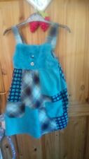 Girls next dresses age 4-5 green by Next