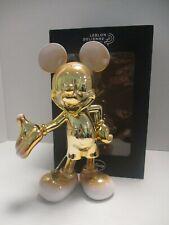 More details for leblon delienne - mickey mouse icon figure gold & white - bnib s24936