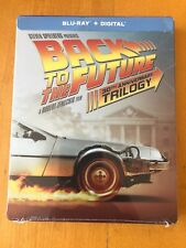 Back To The Future Trilogy 30TH ANNIVERSARY Blu-Ray + Digital - STEELBOOK