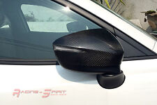 REAL 3D GLOSS CARBON FIBER SIDE MIRROR COVER CAP 16+ MAZDA CX3 SUV SKYACTIV JDM