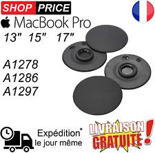 """4 pieds support bas caoutchouc Apple Macbook Pro 13""""15""""17"""" A1278 A1286 A1297"""