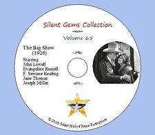 """DVD """"The Big Show"""" (1926) John Lowell, Evangeline Russell, Classic Silent Drama"""