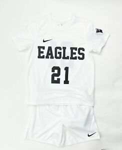 Nike Dry Park 20 Soccer Jersey And Short Set Youth M L XL White CD2244