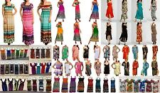 NEW 100 Pcs Wholesale Lot Mixed Sun Dresses Summer Tops Casual Cocktail S M L