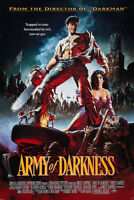 Home Wall Art Print - Vintage Movie Film Poster - ARMY OF DARKNESS - A4,A3,A2,A1