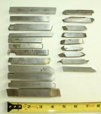 f) Lot of assorted Cutting Bits Lathe Machinist Tooling Metal Working