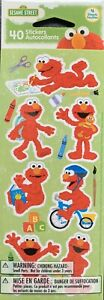 Sesame Street Elmo Stickers 4 Sheets Free Ship Sale!!!!!!
