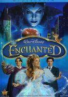 Enchanted (DVD, Walt Disney Pictures, 2008, Widescreen, Color, Slipcover, READ)