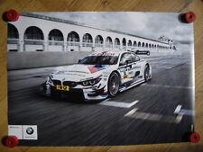 BMW M4 DTM BMW Team Schnitzer Martin Tomczyk Poster Motorsport Racing Car M4 DTM