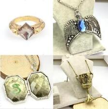 Voldemort Horcrux Set 4PCS Sorcerer's Stone Ring Diadem Hufflepuff Cup Locket HP