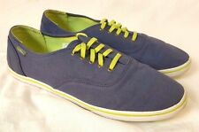 LL Bean Sneakers Size 11 Canvas Navy Blue Oxford Women's Tennis Shoes