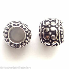 Antiqued Metal 10 - 10.9 mm Size Jewellery Beads