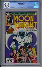 Moon Knight #1 CGC 9.6 Disney + Hot Book | White Pages