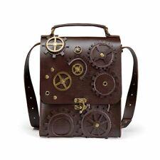 Steampunk Shoulder Bag Mobile Phone Bag For Men Outdoor Vertical Waist Handbag