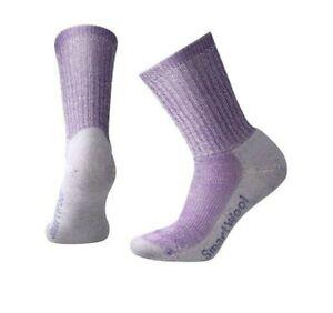 Smartwool Women's Hiking Light Crew Grape Size Small 4-6.5 Wool Performance Sock