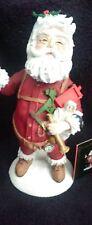 "Duncan Royale Series I - Nast Santas (9"")"