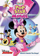 Disney Mickey Mouse Clubhouse MMCH Pop Star Minnie DVD New/Sealed!! Toddlers!!