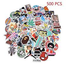 500 Stk Auto Aufkleber Set Stickerbomb Style Laptop decals Doodle stickers DE