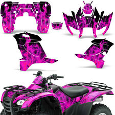 Honda Rancher 420 Graphic Kit ATV Quad Decals Sticker Wrap 2007-2013 ICE PINK