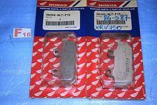 4 plaquettes de frein d'origine HONDA VFR 750 F de 1986/1987 06455-ML7-P10