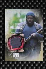 THE WALKING DEAD SEASON 5 BASE SET TRADING CARDS TYREESE WILLIAMS RELIC CARD
