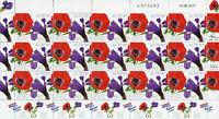 Israel 2017 MNH Flowers Iris Anemone JIS Croatia 15v M/S Flora Stamps