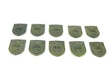 FFA Brass Badge Style Inlay Shield For Knife Repair USA Factory Sale