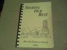 1990 Sharing Our Best by Messiah Lutheran Church Ashtabula Ohio wb8
