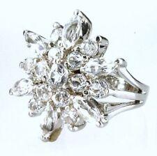 Anelli di lusso trasparente in argento 925 parti su 1000