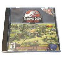 Jurassic Park Operation Genesis PC CD-ROM Game Excellent Disc w Case/Inserts