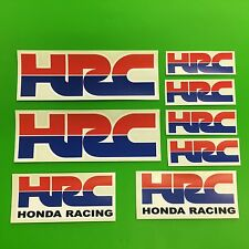 7 HRC Honda Racing Stickers Cbr Fireblade New