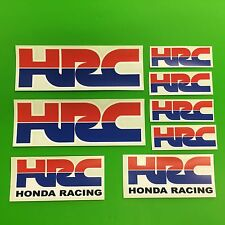 7 HRC HONDA RACING ADESIVI CBR FIREBLADE NUOVO