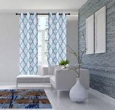 2 PANELS MOROCCAN WINDOW CURTAIN GROMMET TOP ROOM DARKENING FOR LIVING ROOM