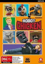 ROBOT CHICKEN season 8 (Region 2 UK Compatible) DVD The Complete Series Eight