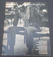 London Sunday Times newspaper magazine 1975 Cambodia, Desert Island Discs