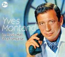 Yves Montand LE MUSIC-HALL A LA FRANCAISE 2 CDs