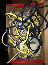 Ethernet Cables Category 5E  Lot Of 11 Cables