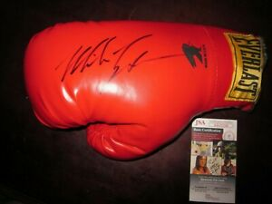 Mike Tyson Autographed Boxing Glove  -JSA Authenticated