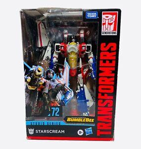 Transformers Generations Studio Series Starscream #72 Damage Box Sale 🔥🔥