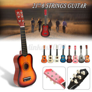 """21"""" 23"""" Inch Beginners Kids Acoustic Guitar Musical Instrument Children Toy Gift"""