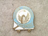 Reading Speedway The Racers Vintage Motorcycle Racing Pin Badge