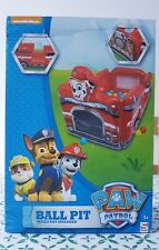 Paw Patrol Marshall Ball Pit Marshall Truck Toy Play Set