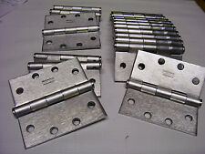 """18 Lot McKinney Stainless Finish 4 1/2"""" Door Hinges ASSA ABLOY 5/8"""" / 5 Knuckle"""