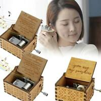 Engraved Music Box FOR Mom/DAD To Daughter - You Are My Sunshine  Music Box