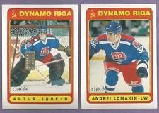 1990-91 OPC O-PEE-CHEE Dynamo Riga Team Set