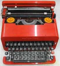 Olivetti Valentine Vintage Typewriter From Japan Rare JUNK