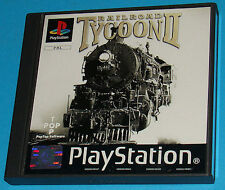 Railroad Tycoon - Sony Playstation - PS1 PSX - PAL